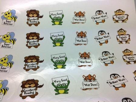 240 - School Teacher Reward Stickers for Kids