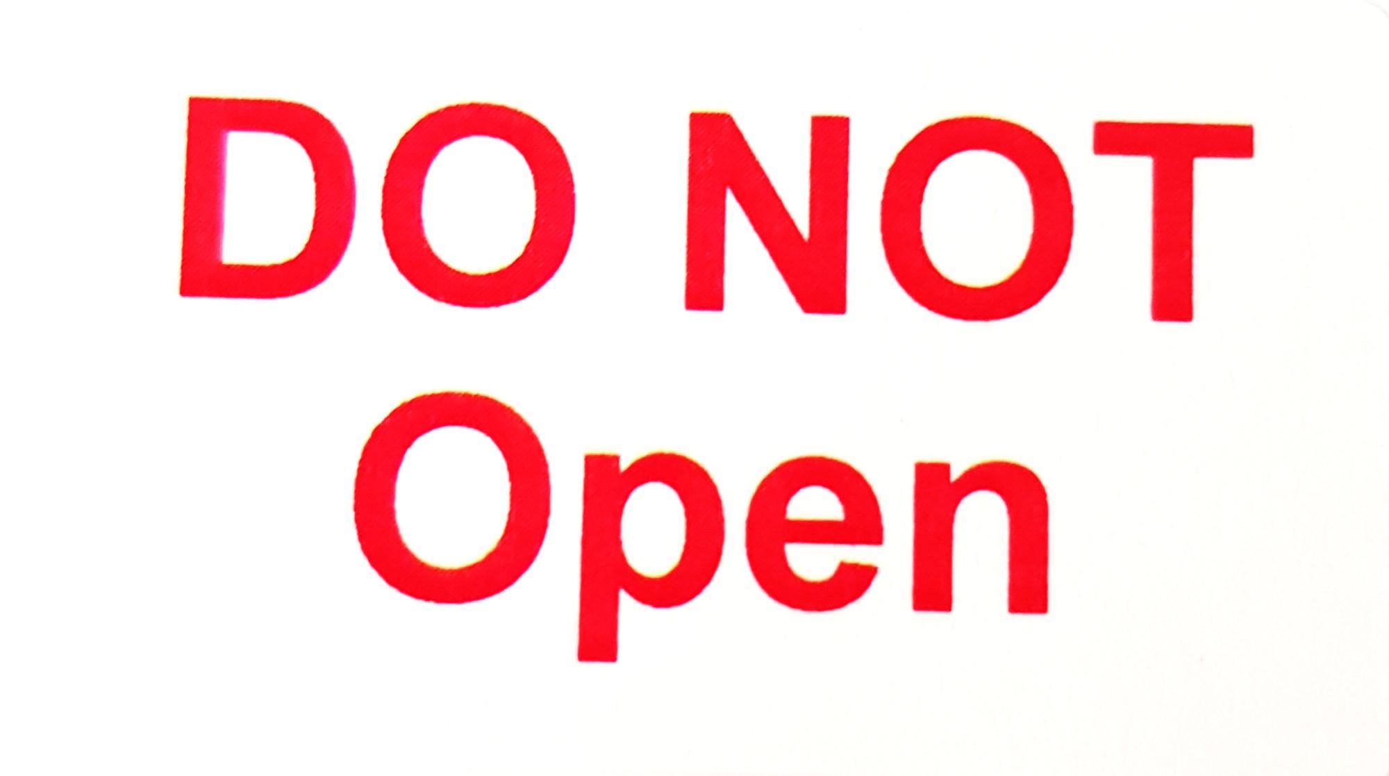 650+ - DO NOT Open